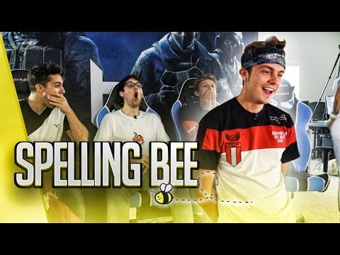 OBEY HOUSE SPELLING BEE CHALLENGE... (bad idea)