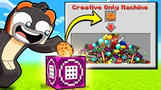 OMG...This BLOCK Creates INFINITE ITEMS! (Scramble Craft)