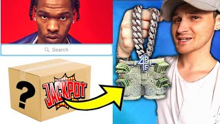 """My $150  """"LIL BABY Mystery Box"""" Came With HIS NEW $150,000 CHAIN!.. im still not happy"""