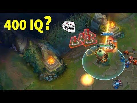 LOL - 400 IQ PLAYS MONTAGE