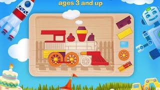 "Tim the Fox Puzzle Free ""Educational  Apps For Toddlers & Pre-schoolers""Android Apps Video"