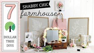 7 PRETTY Organization Dollar Tree DIYs   Shabby Chic Farmhouse DIYs   Mistery Box Challenge