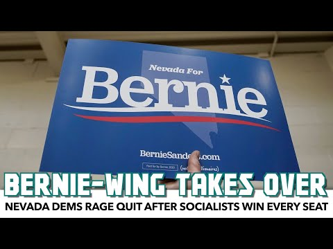Nevada Democrats Rage Quit After Socialists Win Every Seat