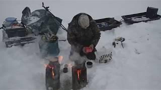 Охота и рыбалка в окрестностях Келдозера Февраль 2019г