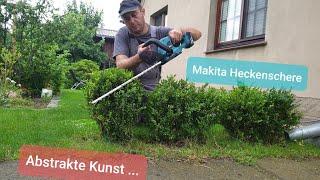 Makita 18V Akku-Heckenschere DUH523Z Produkttest (Vergl. DUH551Z, DUH502Z)