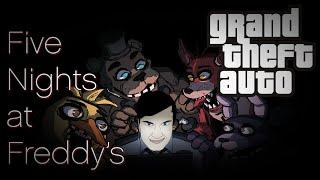 Пять ночей с Фредди в ГТА / Обзор мода GTA San Andreas: Five Nights At Freddy's