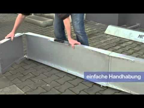 REHASHOP Rollstuhlrampe - falt-/klappbar