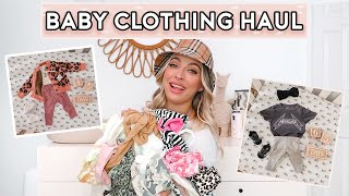 BABY CLOTHING HAUL 👶🏼👚 BEST STORES TO SHOP