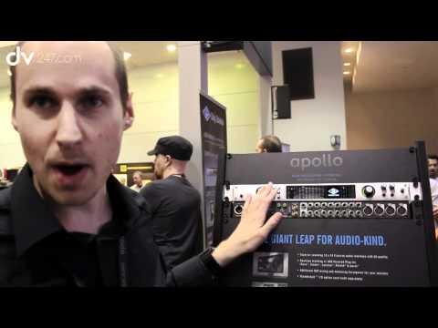 Universal Audio Apollo Firewire Audio Interface First Look