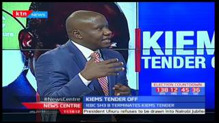 Felix Odhiambo-Elections Institute for Sustainable Democracy in Africa on IEBC tendering process