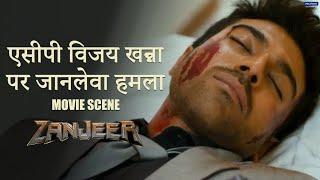 ACP Vijay Khanna Par Jaan Leva Hamla   Zanjeer   Movie Scene   Ram, Priyanka   Apoorva Lakhia