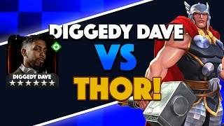 Gameplay: Fighting Thor in Alliance Quest Map 3 Mini Boss