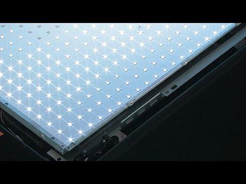 Technik erklärt: Fernseher mit LED-Backlight