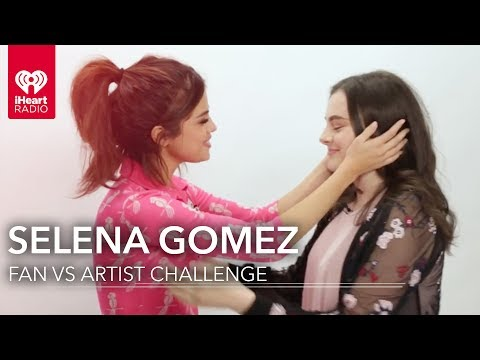 Selena Gomez Duels Fan in Selena Trivia | Fan Vs. Artist