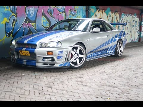 Taking Paul Walker's Nissan Skyline To A Car Meet in Switzerland