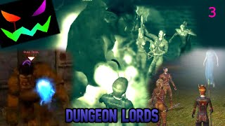Dungeon Lords Part 3 Fighting Two Trolls
