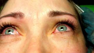 классическое наращивание ресниц техника.Наращивание ресниц, мастер класс!)classic eyelash