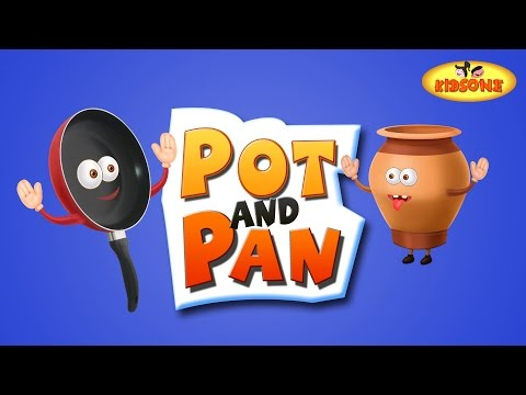 Pot and Pan | Funny Short Stories For Children