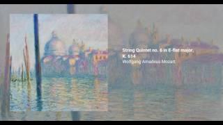 String Quintet no. 6 in E flat major, K. 614