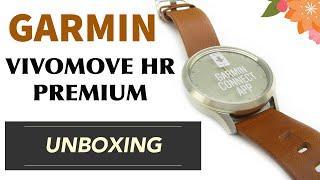 Garmin Vivomove HR Premium Unboxing HD (010-01850-25)