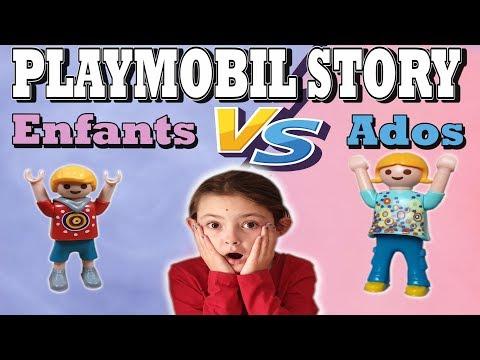 PLAYMOBIL STORY : ENFANTS VS ADOS ! (FILM PLAYMOBIL)