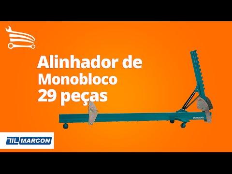 Alinhador de Monobloco com 29 peças e com Prolongador - Video