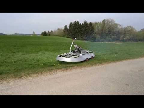 Hoverbike Test