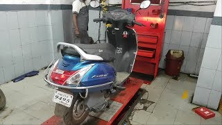 Honda  Activa 4g  2nd Servicing Full Video With Cost
