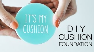 DIY Cushion Compact Powder Untuk Menghemat Budget
