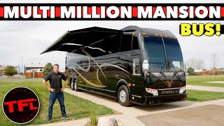 2021 Prevost Emerald RV: Lets Tour The Most Luxurious And Expensive Motor Home On The Road!