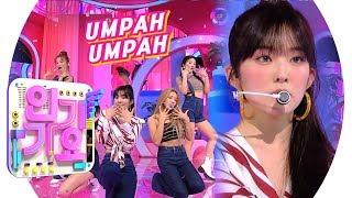 Red Velvet(레드벨벳)   Umpah Umpah(음파음파) @인기가요 Inkigayo 20190825