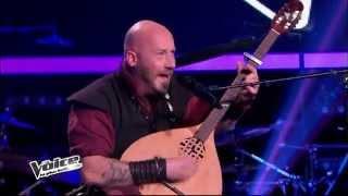 The Voice Season 2 (2013 France) - Luc Arbogast, Cancion Sefaradi - Translation in description