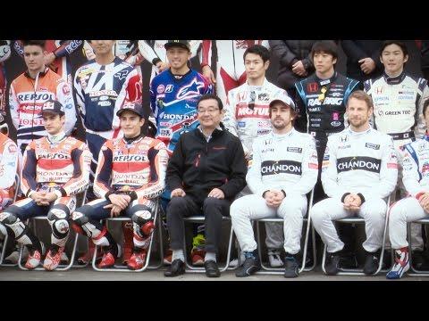 Honda Racing THANKS DAY: Marquez and Pedrosa hit Motegi