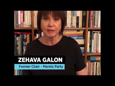 Former Meretz Party Chair Zehava Galon
