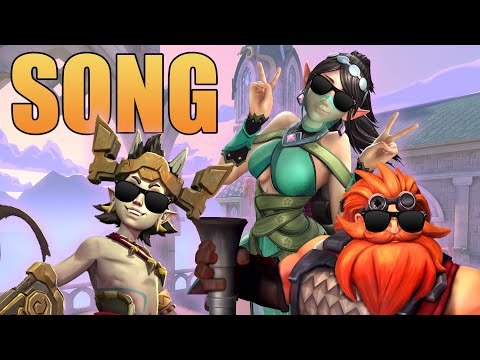 The Paladins Song  (Bruno Mars - The Lazy Song PARODY) ♪