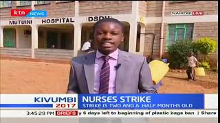 Nothing much has been happening in various hospitals due to ongoing nurses strike
