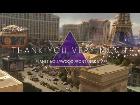 Room tour and review 1 bedroom suite Planet Hollywood Las Vegas!