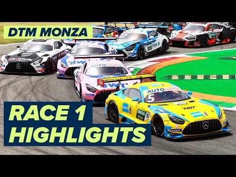 DTM モンツァ(イタリア) RACE1のハイライト動画