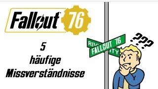 Fallout 76 - Die 5 häufigsten Missverständnisse