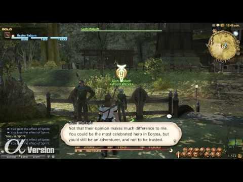 FF XIV : RR Combat a Questy