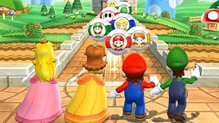 Mario Party 9 - Goomba Bowling - All Characters