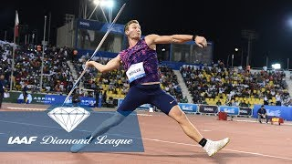 The best 90 meter javelin throws from the IAAF Diamond League
