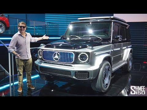 電気自動車のメルセデスEQGが登場!メルセデスのゲレンデGクラスの電気自動車版がこちら