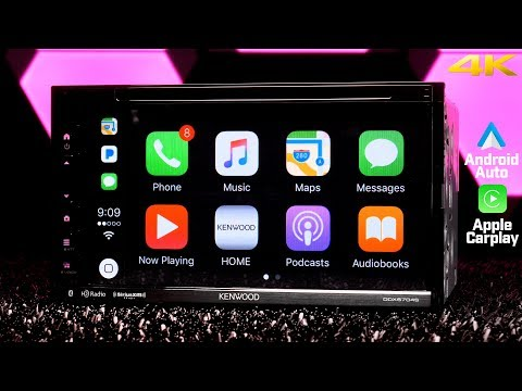 Kenwood DDX6704S Double DIN Stereo - Apple Carplay, Android Auto and Waze