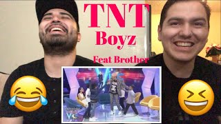 """Guess who's back ... Reaction With My Bro to TNT Boys """"Listen"""""""