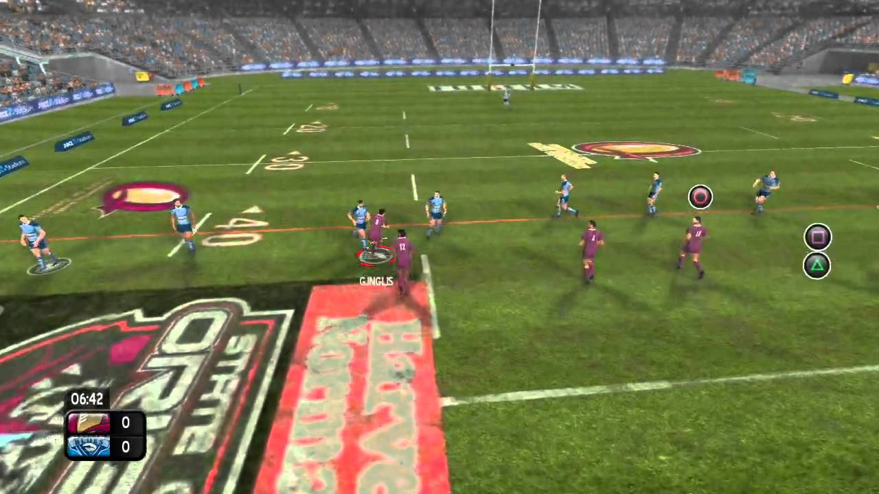 Rugby League Live Trailer Brings The Big Hits