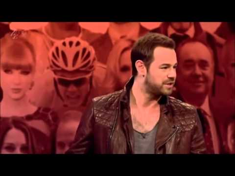 Danny Dyer getting roasted on big fat quiz