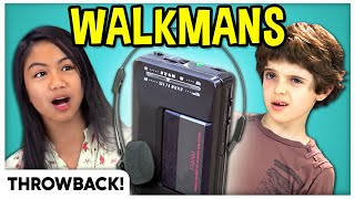 Kids React To Walkmans *With Bonus Footage!* #StayHome