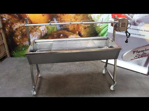 Flaming Coals Master Spit Rotisserie Review
