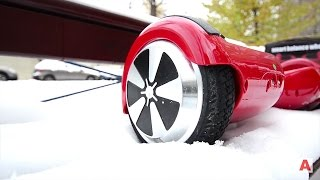 Гироскутер зимой! Обзор / Тест Hiwheel К3 6,5 дюймов / Арстайл /